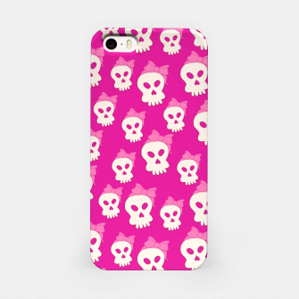 Thumbnail image of Girly Skulls iPhone Case, Live Heroes