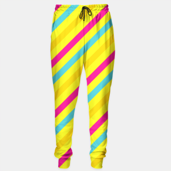 Thumbnail image of Cheerful Stripes Sweatpants, Live Heroes