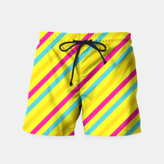 Thumbnail image of Cheerful Stripes Swim Shorts, Live Heroes