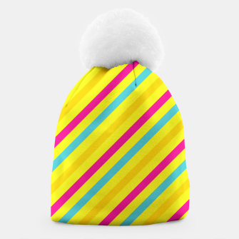Thumbnail image of Cheerful Stripes Beanie, Live Heroes