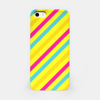 Thumbnail image of Cheerful Stripes iPhone Case, Live Heroes