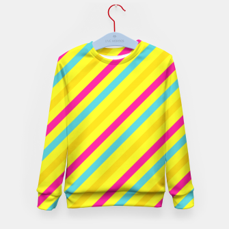Thumbnail image of Cheerful Stripes Kid's Sweater, Live Heroes