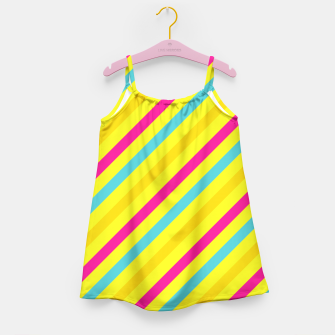 Thumbnail image of Cheerful Stripes Girl's Dress, Live Heroes