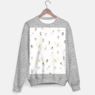 Miniatur Insects Pattern Sweater regular, Live Heroes
