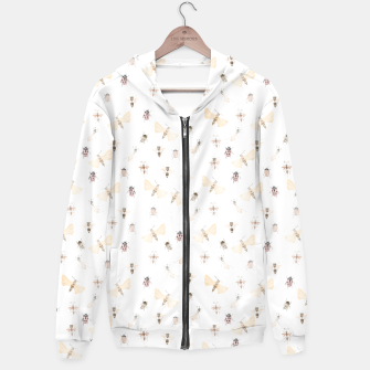 Miniatur Insects Pattern Hoodie, Live Heroes