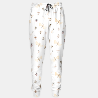 Miniatur Insects Pattern Sweatpants, Live Heroes