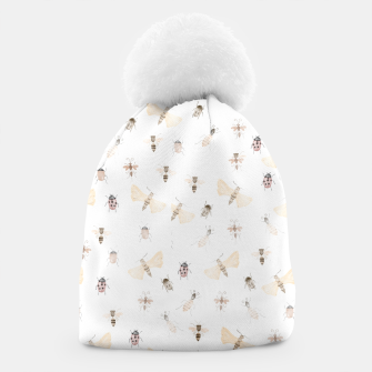 Miniatur Insects Pattern Beanie, Live Heroes