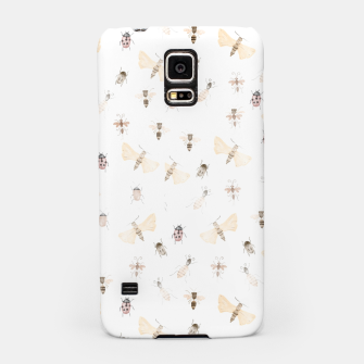 Miniatur Insects Pattern Samsung Case, Live Heroes