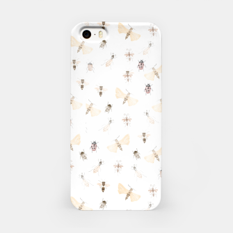 Miniatur Insects Pattern iPhone Case, Live Heroes