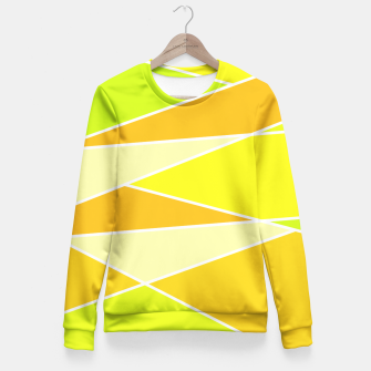 Thumbnail image of Broken Hues - Yellows Fitted Waist Sweater, Live Heroes