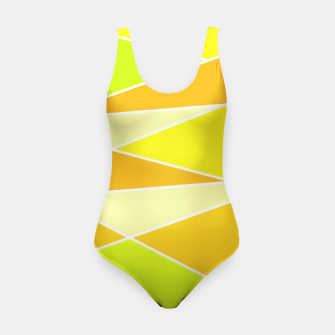 Thumbnail image of Broken Hues - Yellows Swimsuit, Live Heroes