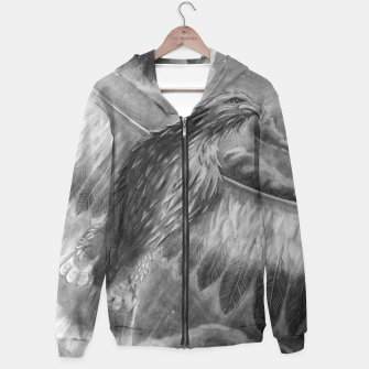 Thumbnail image of Eagle Hoodie, Live Heroes