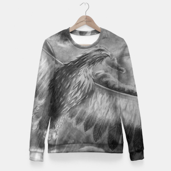 Thumbnail image of Eagle Fitted Waist Sweater, Live Heroes