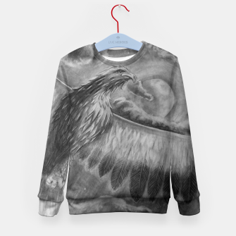 Thumbnail image of Eagle Kid's Sweater, Live Heroes