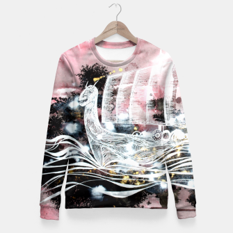 Thumbnail image of Ghostship Fitted Waist Sweater, Live Heroes