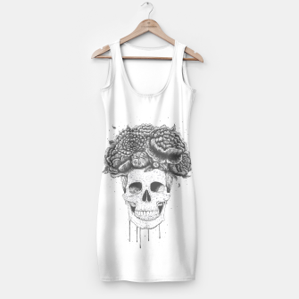 Thumbnail image of Skull with flowers Simple Dress, Live Heroes