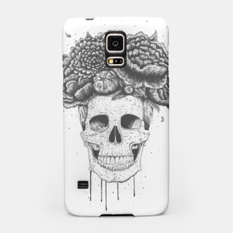 Thumbnail image of Skull with flowers Samsung Case, Live Heroes