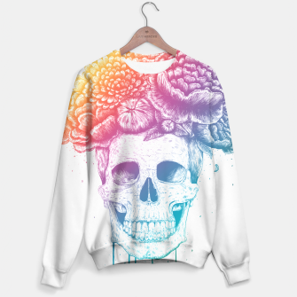 Thumbnail image of Colorful skull Sweater, Live Heroes