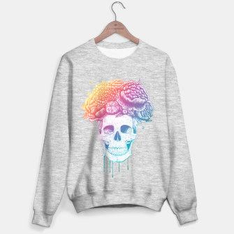 Miniatur Colorful skull Sweater regular, Live Heroes