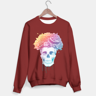 Thumbnail image of Colorful skull Sweater regular, Live Heroes