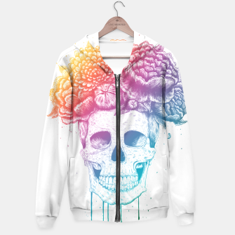 Thumbnail image of Colorful skull Hoodie, Live Heroes