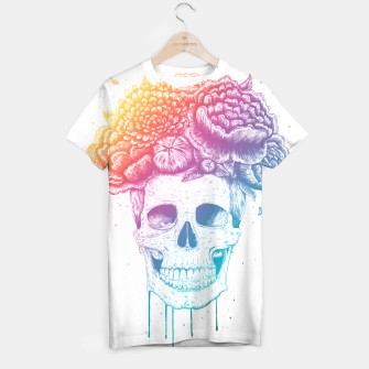 Miniature de image de Colorful skull T-shirt, Live Heroes