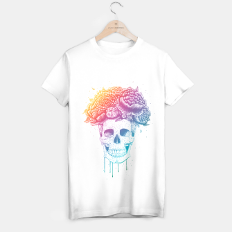 Thumbnail image of Colorful skull T-shirt regular, Live Heroes