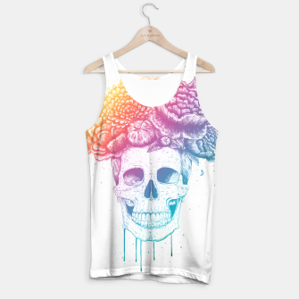 Thumbnail image of Colorful skull Tank Top, Live Heroes