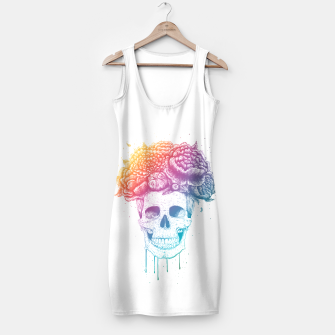 Thumbnail image of Colorful skull Simple Dress, Live Heroes