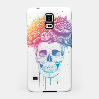 Thumbnail image of Colorful skull Samsung Case, Live Heroes