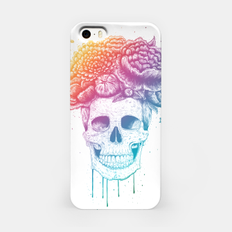 Thumbnail image of Colorful skull iPhone Case, Live Heroes