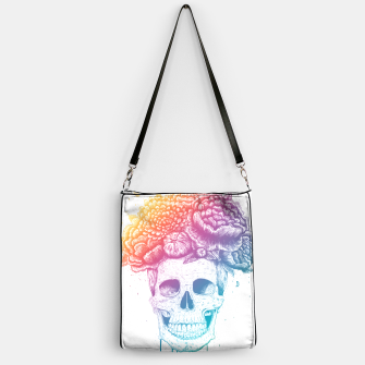 Thumbnail image of Colorful skull Handbag, Live Heroes