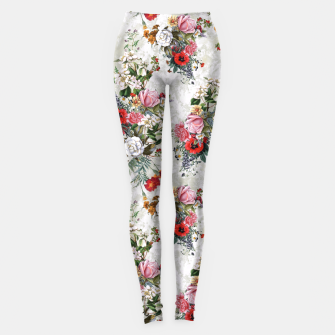 Botanical Flowers IV Leggings thumbnail image
