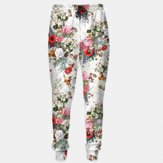 Thumbnail image of Botanical Flowers IV Sweatpants, Live Heroes