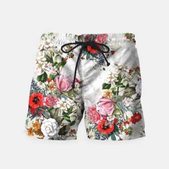 Thumbnail image of Botanical Flowers IV Swim Shorts, Live Heroes