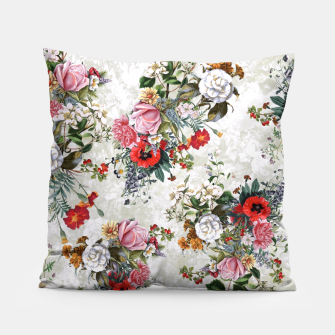 Thumbnail image of Botanical Flowers IV Pillow, Live Heroes