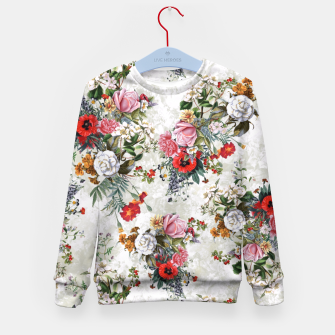 Thumbnail image of Botanical Flowers IV Kid's Sweater, Live Heroes