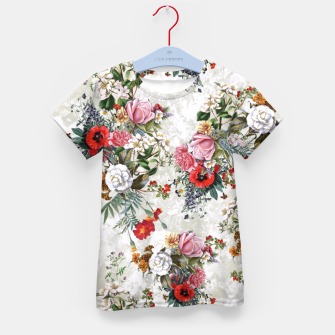 Thumbnail image of Botanical Flowers IV Kid's T-shirt, Live Heroes