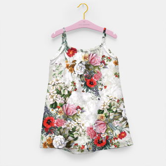 Botanical Flowers IV Girl's Dress thumbnail image