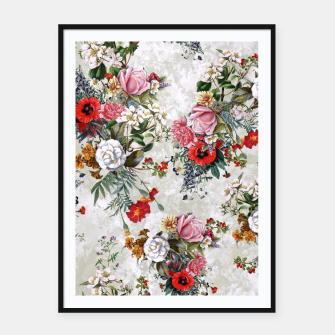 Thumbnail image of Botanical Flowers IV Framed poster, Live Heroes