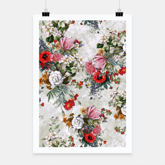 Thumbnail image of Botanical Flowers IV Poster, Live Heroes