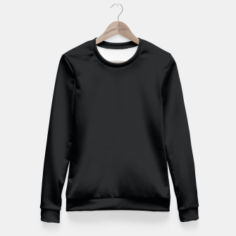 Thumbnail image of Black color Fitted Waist Sweater, Live Heroes