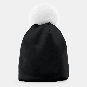 Thumbnail image of Black color Beanie, Live Heroes