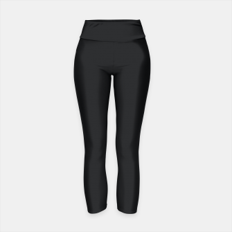 Thumbnail image of Black color Yoga Pants, Live Heroes