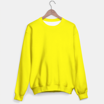 Thumbnail image of Canary Yellow Sweater, Live Heroes