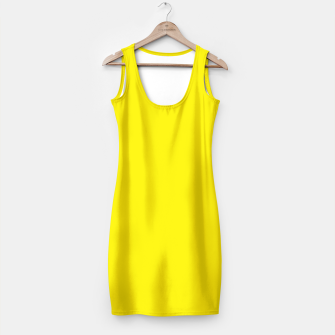 Thumbnail image of Canary Yellow Simple Dress, Live Heroes