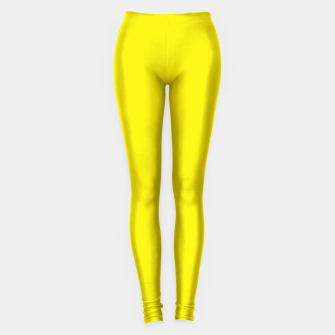 Thumbnail image of Canary Yellow Leggings, Live Heroes