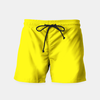 Thumbnail image of Canary Yellow Swim Shorts, Live Heroes