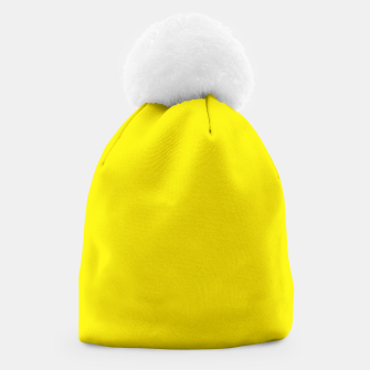Thumbnail image of Canary Yellow Beanie, Live Heroes