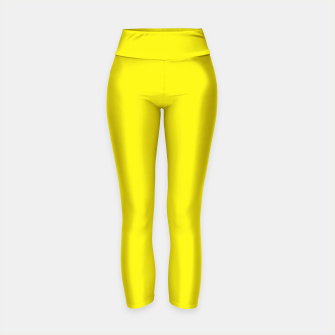 Thumbnail image of Canary Yellow Yoga Pants, Live Heroes